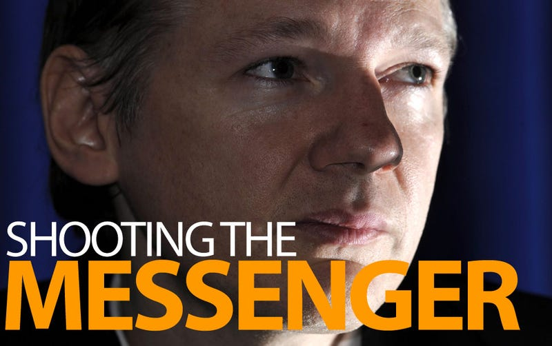 Illustration for article titled The Reaction of Governments to Wikileaks Should Scare the Hell Out of You