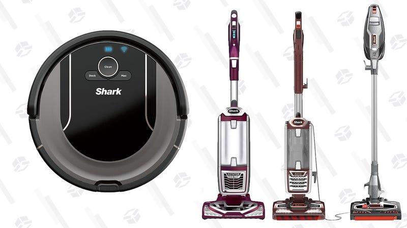 Shark R85 Wi-Fi Robot Vacuum + NV752 Lift-Away Vacuum | $380 | SharkShark R85 Wi-Fi Robot Vacuum + NV8002 Lift-Away Vacuum | $380 | SharkShark R85 Wi-Fi Robot Vacuum + HV382 Stick Vacuum | $380 | Shark