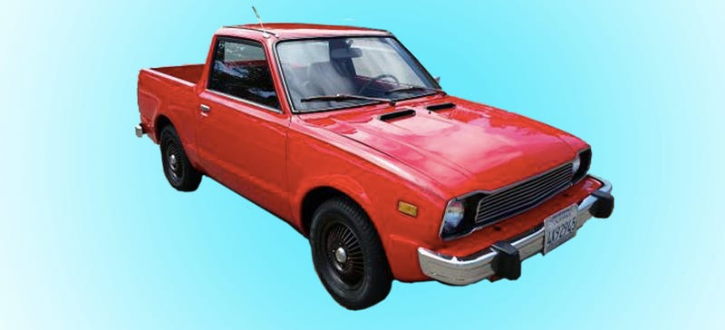 Illustration for article titled This 1977 Honda Civic Actually Makes A Perfect Pickup Truck