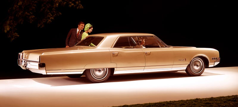 A Oldsmobile 98, which was like the large Oldsmobile 88, but larger. Photo Credit: Oldsmobile
