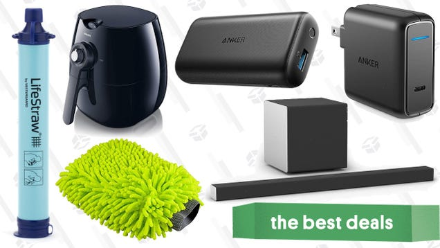 Saturday s Best Deals: Dolby Atmos, Philips Airfryer, $10 LifeStraw, and More