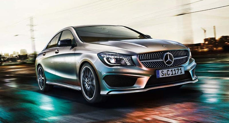 Illustration for article titled 2014 Mercedes-Benz CLA: This Is It