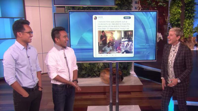 Illustration for article titled Viral McDonald's pranksters get big reward on Ellen