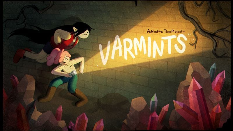 Illustration for article titled Adventure Time brings the feels as Marceline saves Bubblegum from despair
