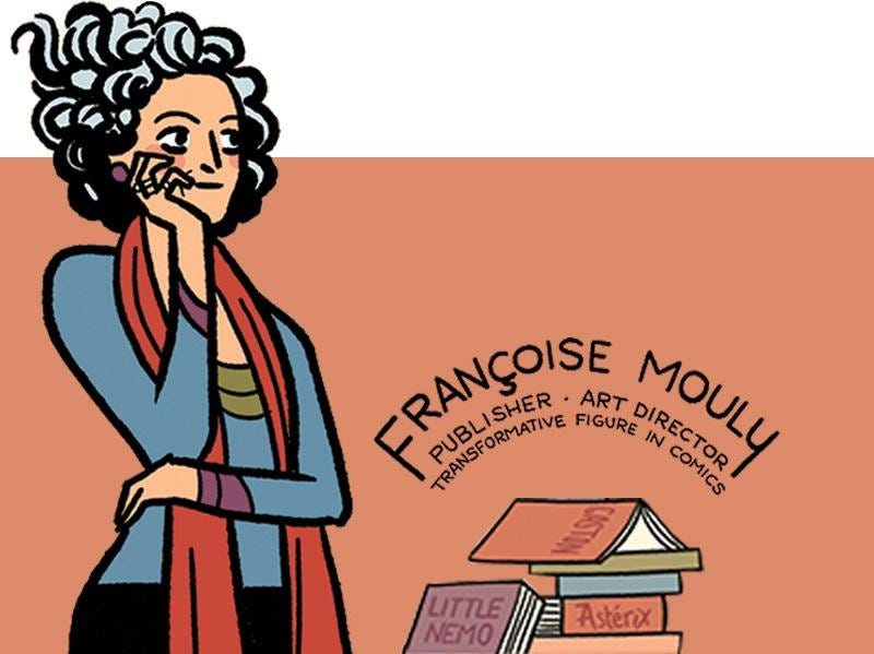 Illustration for article titled Françoise Mouly, Transformative Figure in Comics