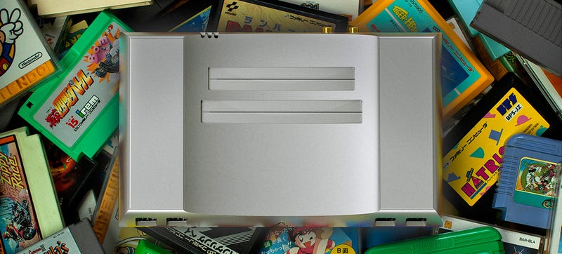 Illustration for article titled A Gorgeous NES Clone Made From a Solid Block of Aluminum