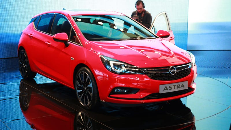 Illustration for article titled The New Opel Astra Is Cool In Case You're Wondering What GM Europe Does