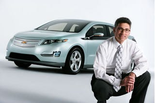 Illustration for article titled Chevy Volt Plug-in Hybrid Revealed Early