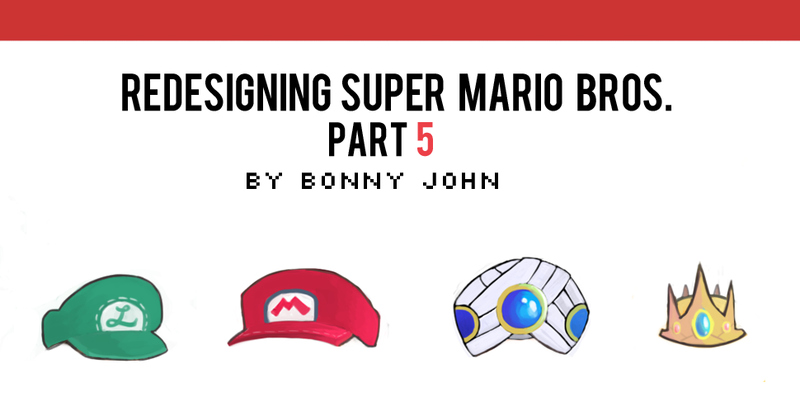 Illustration for article titled Redesigning Super Mario Bros. Part 5