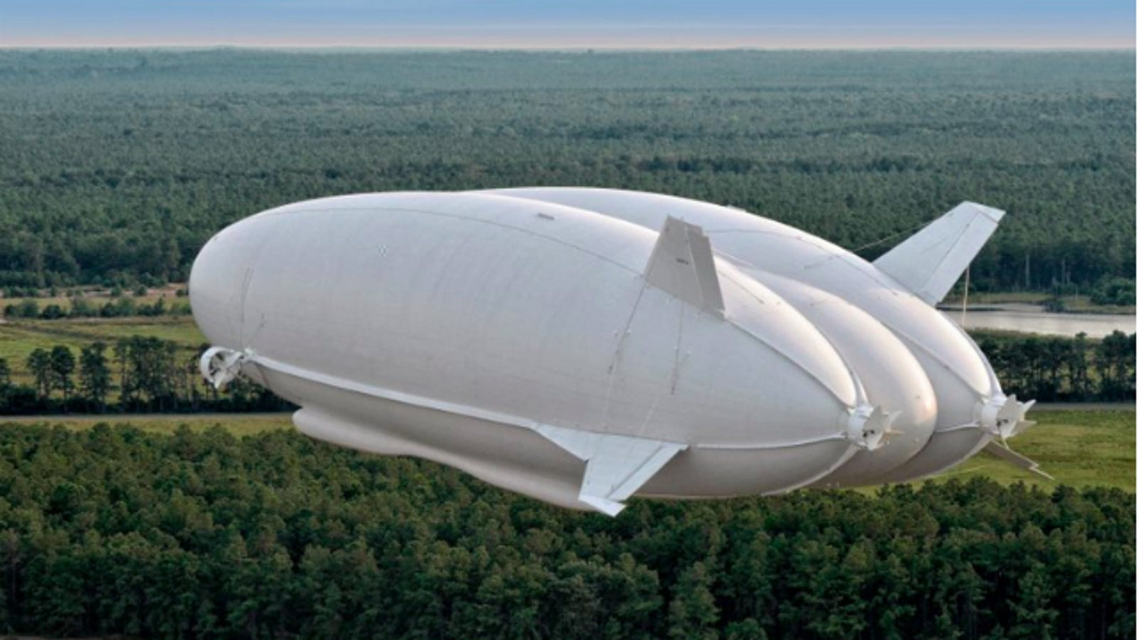 The World's Biggest Aircraft Could Launch a New Age of Airships