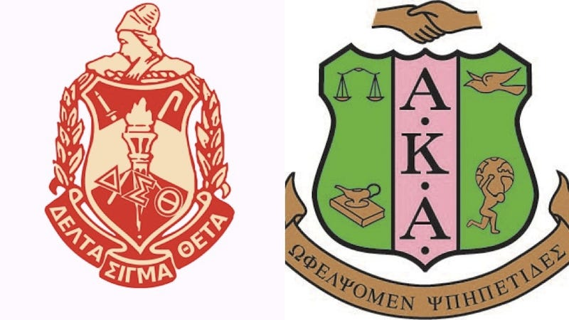 Illustration for article titled First Black Sororities Tell Members Not to Wear Logos While Protesting
