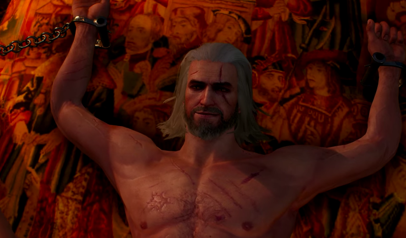 Illustration for article titled Geralt Of Rivia's Voice Actor Says Doing Witcher 3 Sex Scenes Was Like 'Being Caught Masturbating'