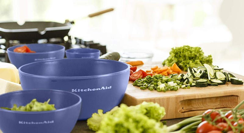 4-Pack KitchenAid Mixing Bowls With Lids | $9 | Amazon