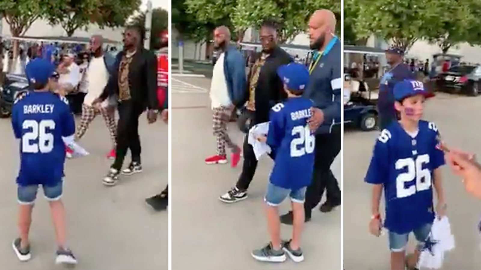 No, DeMarcus Lawrence Will Not Apologize For Gently Roasting Wee Giants Fan