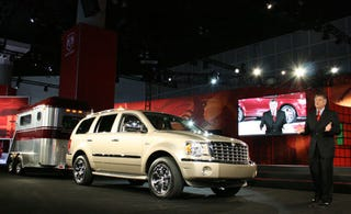 Illustration for article titled LA Auto Show: 2009 Chrysler Aspen and Dodge Hemi Hybrids Revealed