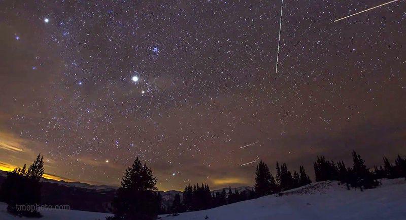 Illustration for article titled Cómo tomar las mejores fotos de una lluvia de meteoros sin utilizar equipo profesional