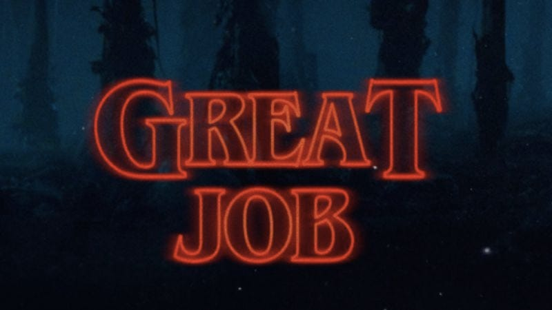 Illustration for article titled Make all things Stranger Things with this title card generator