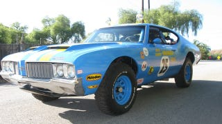 Illustration for article titled Here's Your Chance To Own The Oldsmobile 442 James Garner Raced In Baja