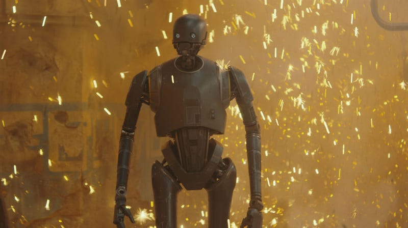 K-2SO played in performance capture by Alan Tudky. Image: Disney