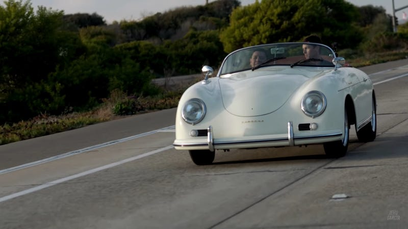 Illustration for article titled This Electric-Converted Porsche Speedster is the Perfect Way to Modernize a Classic
