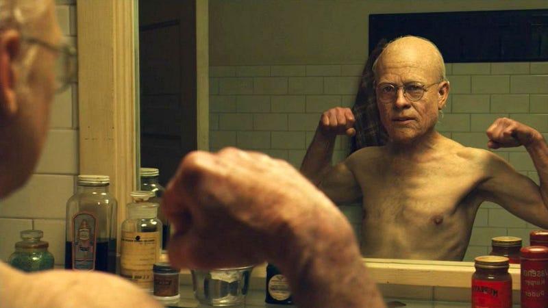 Brad Pitt en El curioso caso de Benjamin Button. Imagen: Warner Bros.