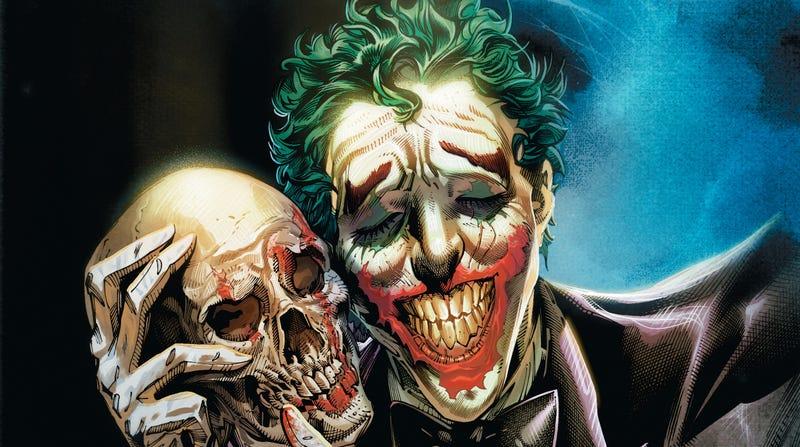 Cover art for The Joker: Year of the Villain #1.