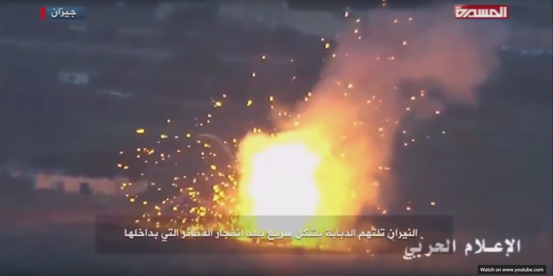 Illustration for article titled Houthi Rebels Destroy M1 Abrams Tanks With Basic Iranian Guided Missiles