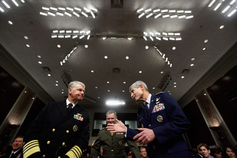 Military-service chiefs (Getty)