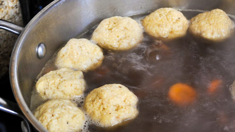 Illustration for article titled Club Soda Makes the Fluffiest Matzo Balls