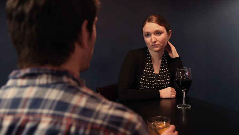 Illustration for article titled Woman Spends Entire Date Wondering If This The One She'll Mace