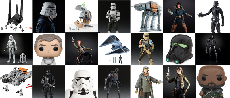 Illustration for article titled Here Are All the Coolest New Rogue OneToys That Were Revealed Today
