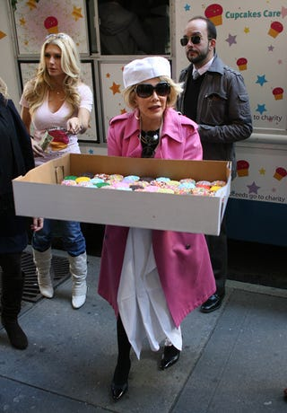 Illustration for article titled Joan Rivers Wants You To Taste Her Cupcakes