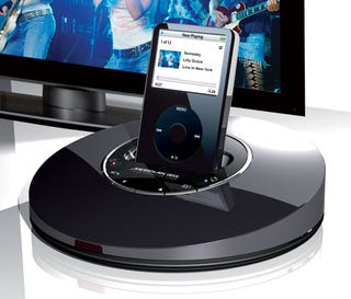 Illustration for article titled Meridian iRIS Is World's First 1080p-Upconverting iPod Dock
