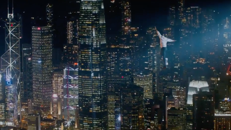 Dwayne Johnson gets his own high-flying Die Hard in the Skyscraper Super Bowl trailer