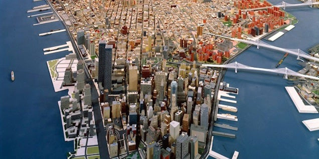 Pictures Of Toy Models Of Cities : Enormou s scale models of cities are mind blowing and gorgeous