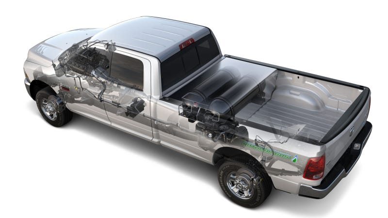 Illustration for article titled Human Biolology Breathes New Life Into Chrysler Group CNG Commitment