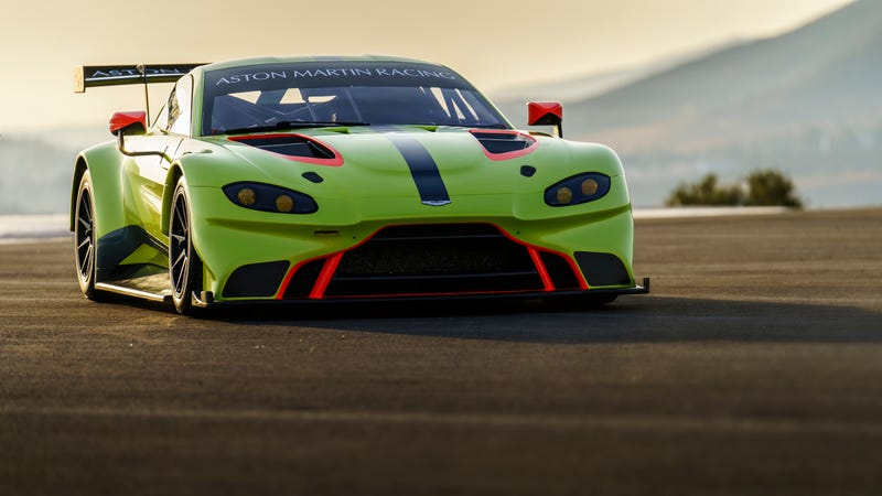 Illustration for article titled The New Aston Martin Vantage Is Already Here To Go Racing