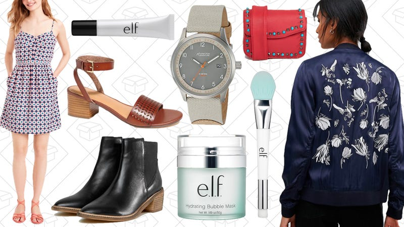 Illustration for article titled Today's Best Lifestyle Deals: Watches, e.l.f. Cosmetics, ASOS, J.Crew Factory, and More