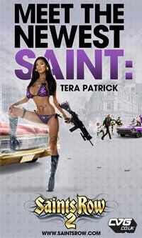 Illustration for article titled Porn Starlet Tera Patrick Joins Saint's Row 2