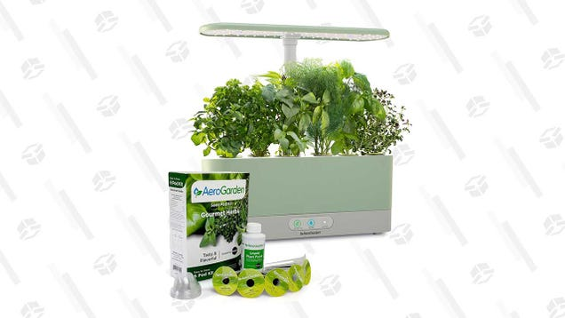 Hey Plant Lover, Over Here! The AeroGarden Harvest Slim Is 51% Off