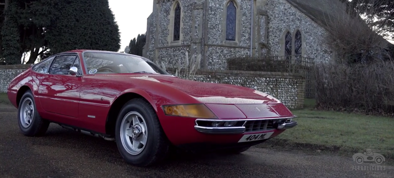 Illustration for article titled When A Ferrari Daytona Is A Family Car