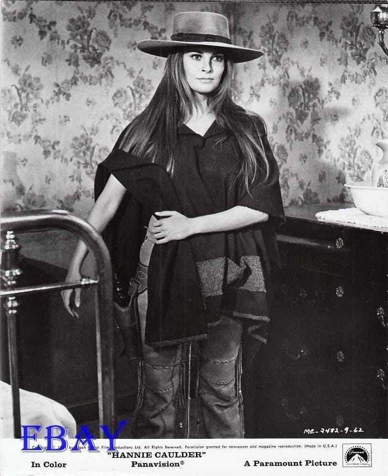 Illustration for article titled Anybody else see Maggie tonight and think Hannie Caulder?