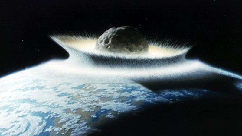 Artist's concept of the apocalypse.