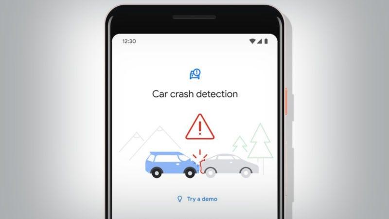 Illustration for article titled El Pixel 4 podrá detectar si has sufrido un accidente de tráfico y pedir ayuda por ti