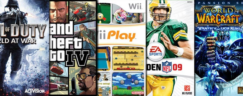 Illustration for article titled What Was 2008's Best Selling Game In The U.S.?