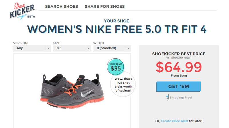 Shoekicker Finds The Best Price on Your Favorite Running Shoe