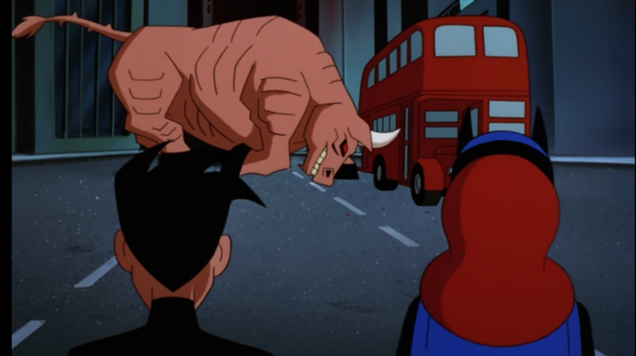 Even the Perfect Batman Cartoon Was Bullshit Once in a While