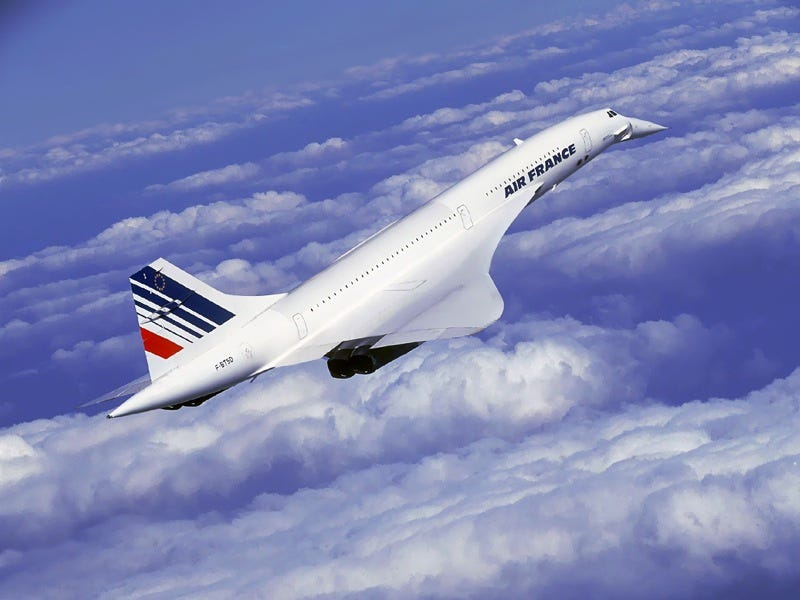 The Supersonic Concorde Jet Can We Go Back To 1979 Please