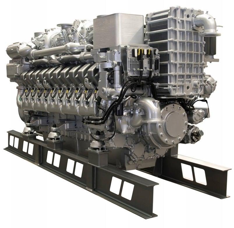 mtu series 4000 engine as in 4000 hp rh jalopnik com MTU 20V 4000 Engine Bucyrus Excavators