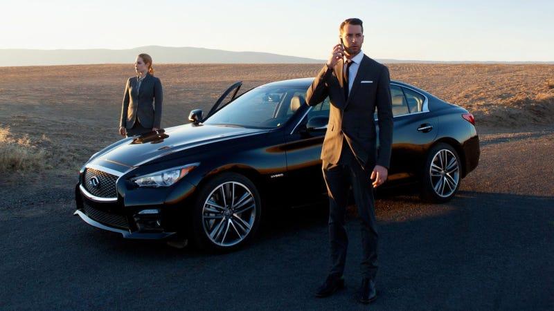 Illustration for article titled Infiniti And Campfire Premiere 'Deja View' – A State-Of-The-Art Responsive Film
